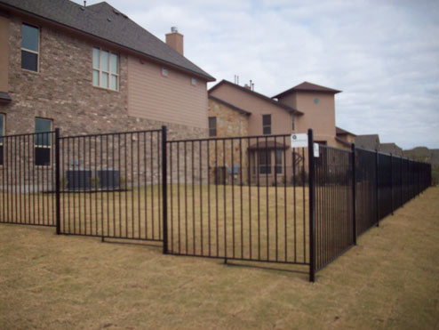 Apple Fence Company Austin, TX - Ornamental Iron Fence