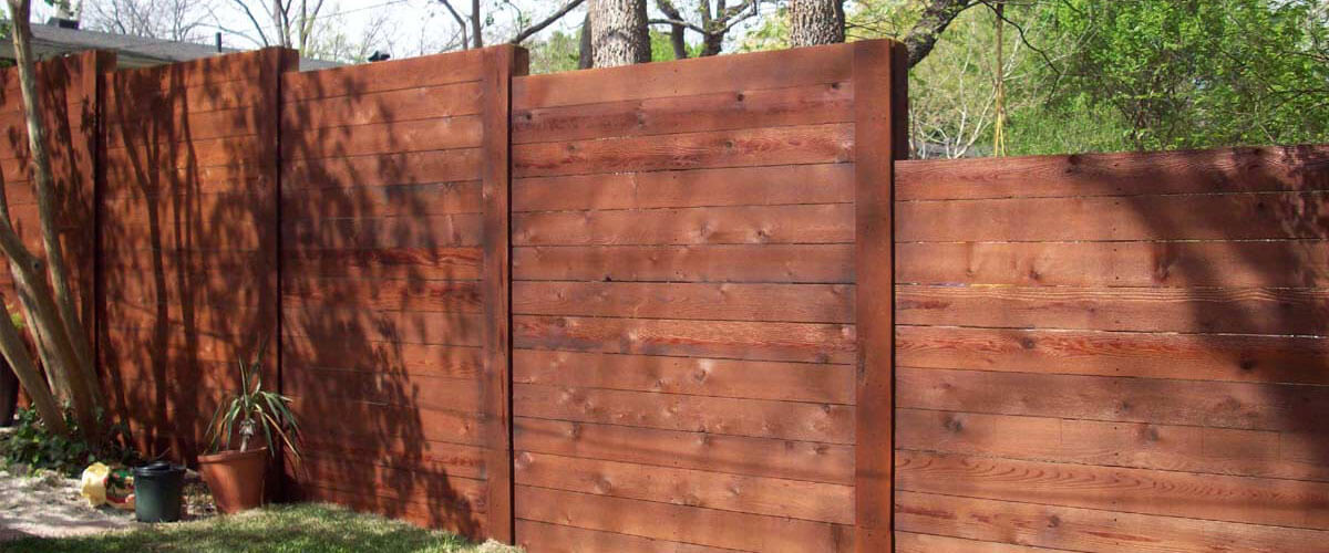 Wood Fence Installation by Apple Fence Company - Austin, TX