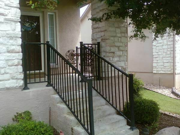 Apple Fence Company Austin, TX - Wrought Iron Hand Rails
