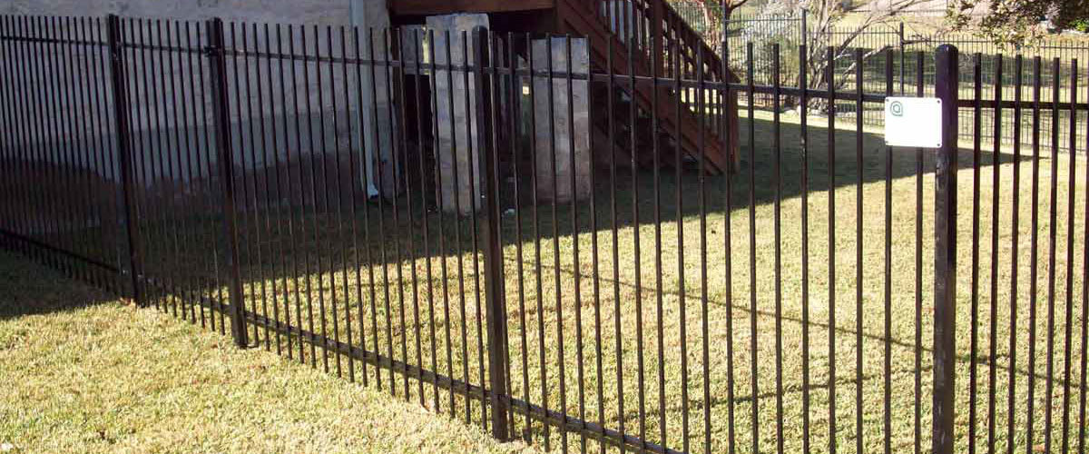 Wrought Iron Fence Gate Installation Apple Fence Company