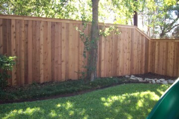 Wood Cap & Trim Fences - Apple Fence Austin