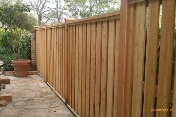 Shadow Box Wood Fences - Apple Fence Austin
