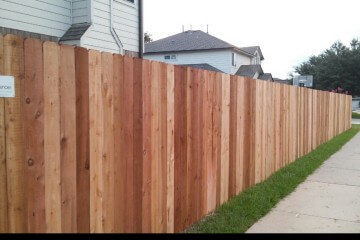 Wood Privacy Fences - Apple Fence Austin